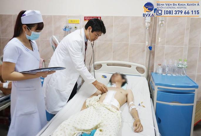 Nạn nhân được cứu sống nhờ vào khả năng và tấm lòng của những thầy thuốc