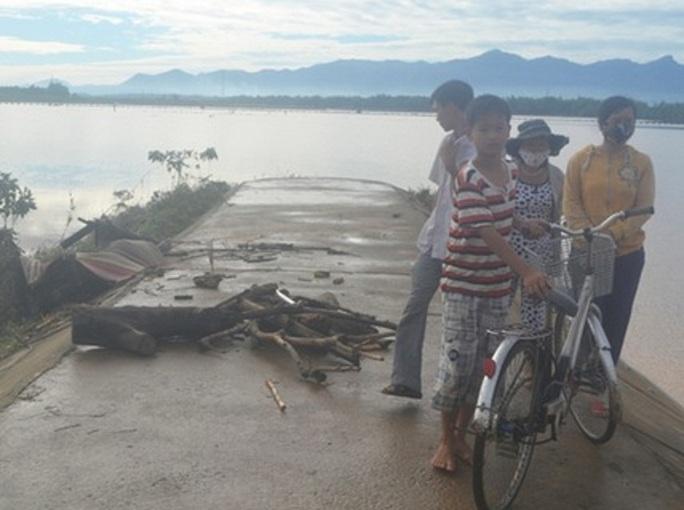 Sông Vu Gia, nơi xảy ra vụ đuối nước khiến 2 HS tử vong (Ảnh minh họa)
