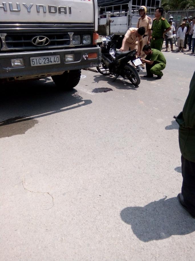 Vụ tai nạn làm chị Nguyễn Thị Linh Tâm, 26 tuổi, chết trên đường đi cấp cứu