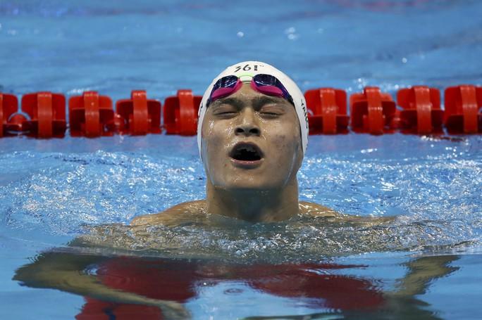 Sun Yang gây thất vọng tột cùng trong chuỗi thành tích kém cỏi của bơi lội Trung Quốc