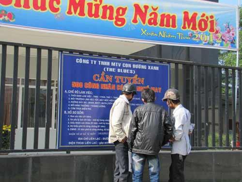 Thông tin tuyển dụng lao động phổ thông tại Đà Nẵng ...