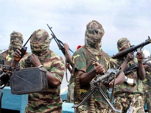Các thành viên Boko Haram. Ảnh: INFORM AFRICA