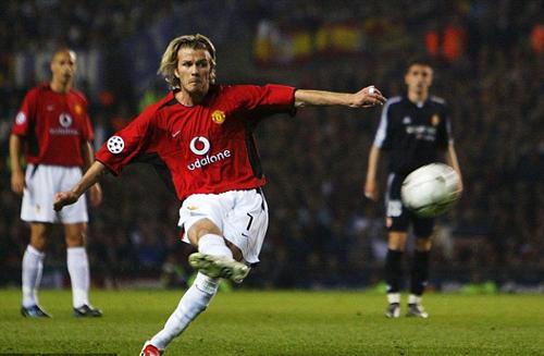 """Beckham trở thành """"siêu sao"""" nhờ tập sút… gấu bông! - Báo Người lao động"""