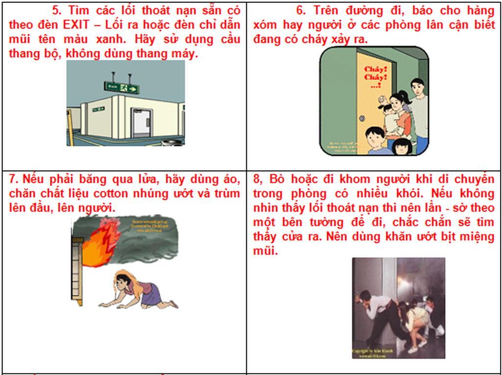 Từ vụ cháy chung cư Carina: 19 Kỹ năng thoát hiểm cần nhớ! - Ảnh 4.