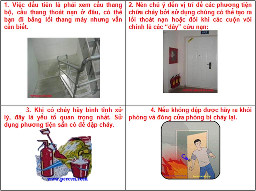 Từ vụ cháy chung cư Carina: 19 Kỹ năng thoát hiểm cần nhớ! - Ảnh 3.