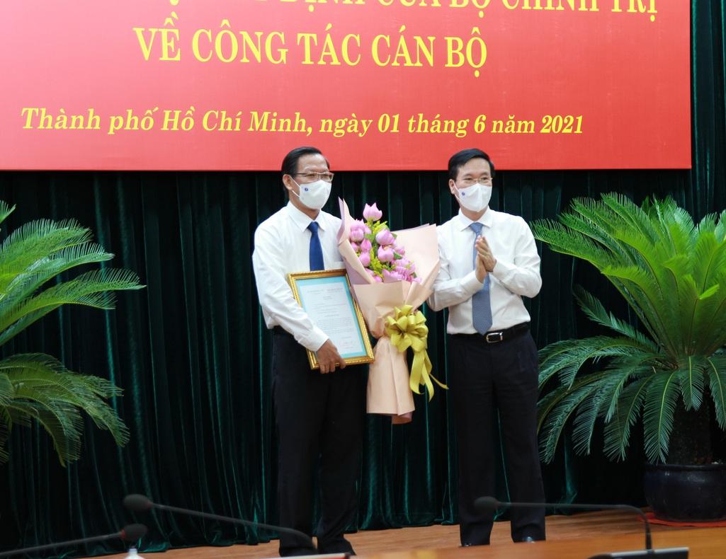 Ông Phan Văn Mãi giữ chức Phó Bí thư Thường trực Thành ủy TP HCM - Ảnh 2.