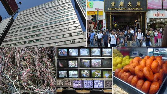 """Tòa nhà Chungking được ví như """"Liên Hiệp Quốc thu nhỏ"""". Ảnh: BBC"""
