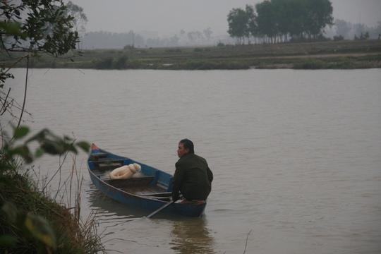 Đoạn sông nơi xảy ra vụ việc đau lòng