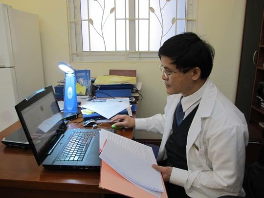 Bác sĩ Vương Văn Vệ, người thực hiện ca thụ tinh ống nghiệm đặc biệt