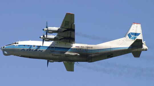 The An-12 plane. (RIA Novosti / Dmitriy Petrochenko)