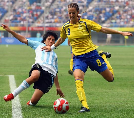 Lotta Schelin, nữ tuyển thủ Thụy Điển