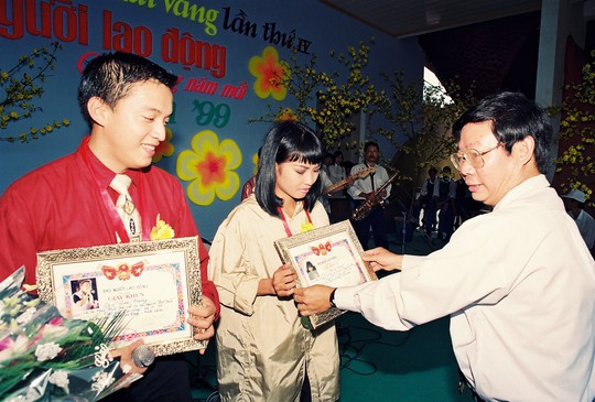Lam Trường trẻ trung thuở nhận Giải Mai Vàng - Ảnh 3.