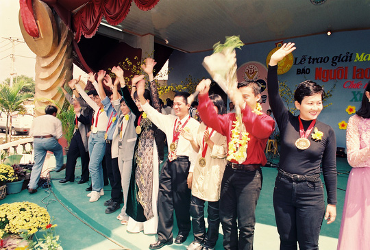 Lam Trường trẻ trung thuở nhận Giải Mai Vàng - Ảnh 4.