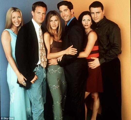 Các diễn viên trong phim truyền hình Friends