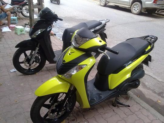 SH thế hệ thứ ba cũng là dòng xe bị làm giá mạnh nhất tại Việt Nam.