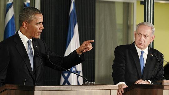 Quan hệ giữa Tổng thống Mỹ Barack Obama (trái) và Thủ tướng Israel Benjamin Netanyahu có vẻ không tốt đẹp như mọi người lầm tưởng. Ảnh: Reuters