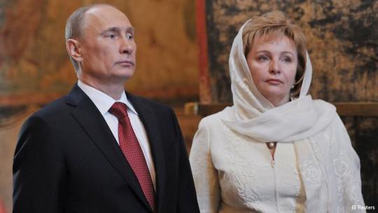 Vợ chồng Tổng thống Putin đã chính thức ly hôn sau hơn 30 năm chung sống. Ảnh: Reuters