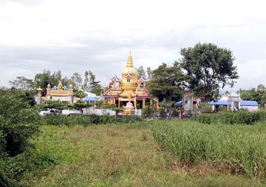 Chùa Quảng Phước nơi xảy ra vụ trộm