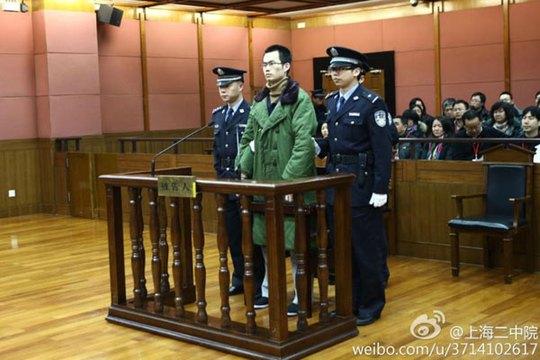 Lin Senhao trong phiên tòa ngày 18-2