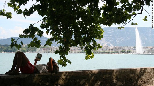 Geneva is the only European city in the top 10 ranking with a liter of unleaded petrol below $2, at $1.96.