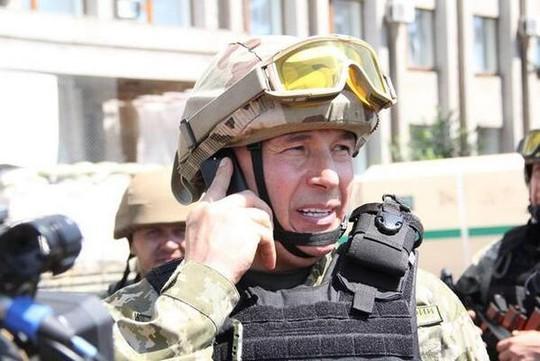 Bộ trưởng Quốc phòng Ukraine Valery Heletey. Ảnh: Twitter