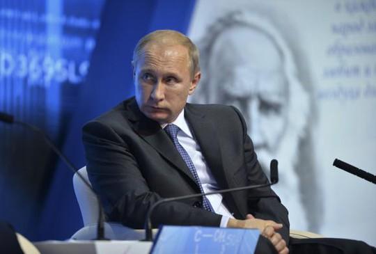 """Tổng thống Putin: """"Tống tiền"""" Nga là sự liều lĩnh của Mỹ và phương Tây"""