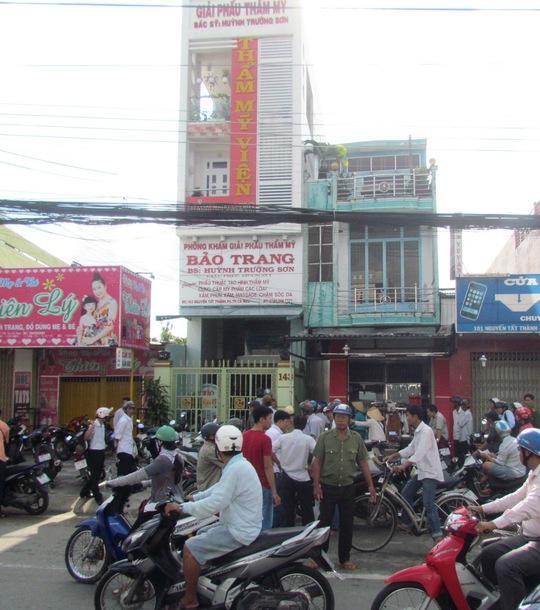 Vụ cướp giả ở thẩm mỹ viện Bảo Trang gây xôn xao dư luận