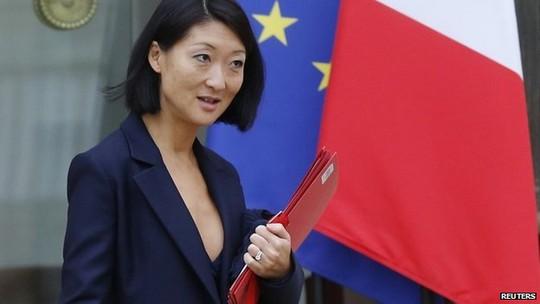Bộ trưởng Văn hóa và Truyền thông Pháp Fleur Pellerin. Ảnh: Reuters