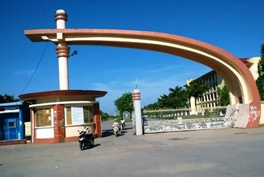 Trường Đại học Hồng Đức - Thanh Hóa, nơi ông Dũng đang công tác
