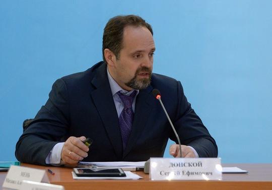 Bộ trưởng Tài nguyên và Sinh thái Nga Sergey Donskoy. Ảnh: RIA Novosti