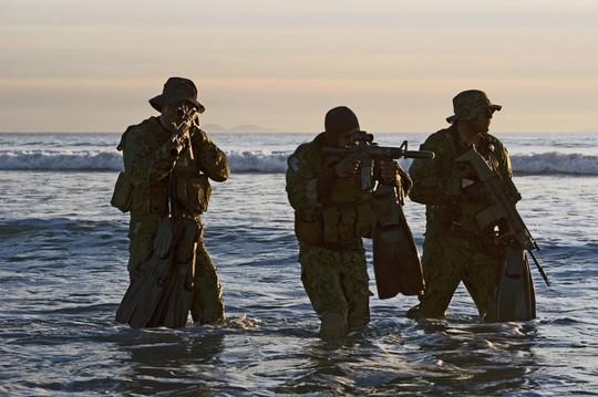 Đặc nhiệm SEAL trong một khóa huấn luyện. Ảnh: U.S. Navy