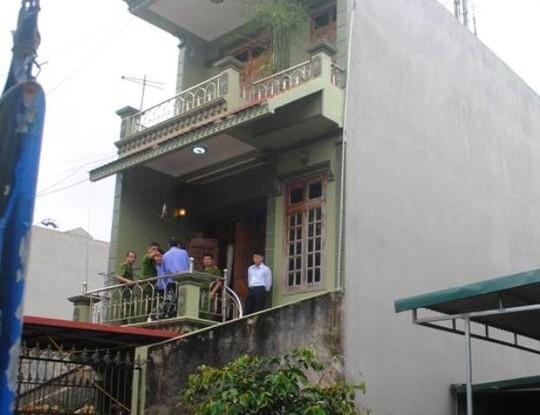 Ngôi nhà 45/06, nơi xảy ra vụ án mạng nghiêm trọng chiều ngày 6-11