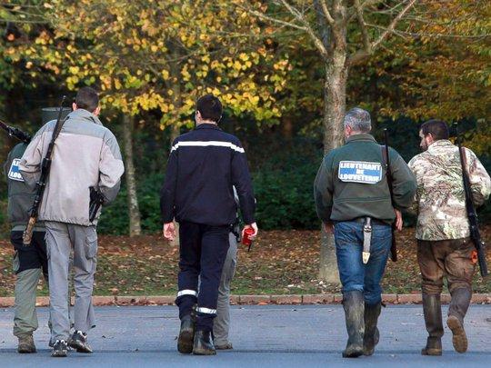 Nhà chức trách Pháp đang tích cực truy lùng con hổ ở thị trấn Montévrain, ngoại ô thủ đô Paris. Ảnh: AP
