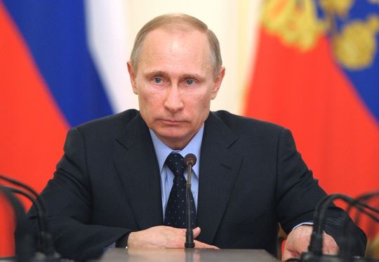 """Tổng thống Putin: """"Những người đấu tranh vì lẽ phải luôn tìm thấy vũ khí"""". Ảnh: AP"""