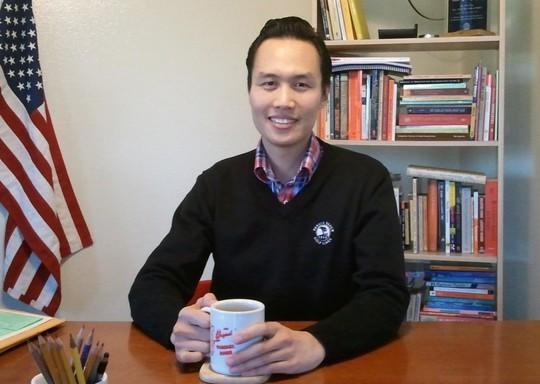 Ông Bao Nguyen. Ảnh: uci.edu