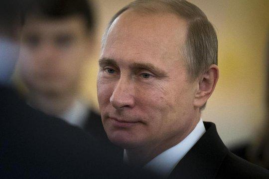 """Ông Putin lo ngại """"Cách mạng màu"""" sẽ xảy ra ở Nga. Ảnh: AP"""