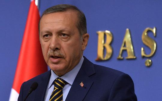 Tổng thống Thổ Nhĩ Kỳ Recep Tayyip Erdogan. Ảnh: AP