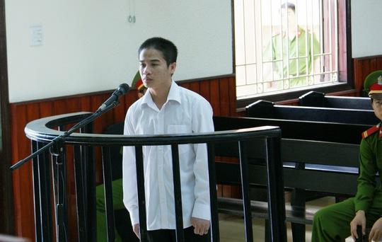 Bị cáo Nguyễn Ngọc Thống tại phiên tòa
