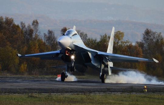 Máy bay Su-30 M2 của Nga. Ảnh: TASS