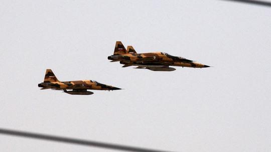 Mỹ cho biết máy bay Iran đang tham gia không kích IS tại Iraq. Ảnh: Reuters
