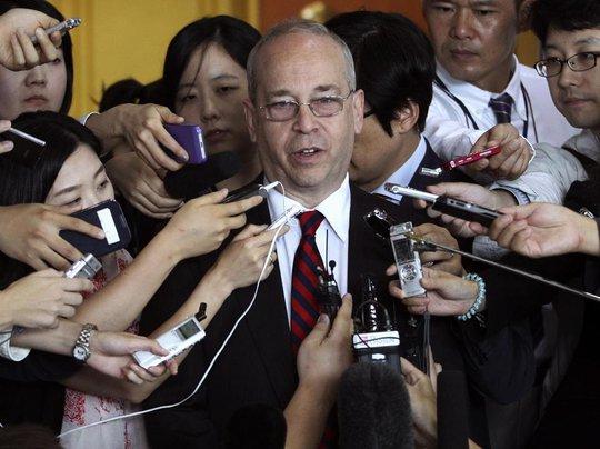 Trợ lý Ngoại trưởng Mỹ đặc trách vấn đề Đông Á - Thái Bình Dương Daniel Russel. Ảnh: AP