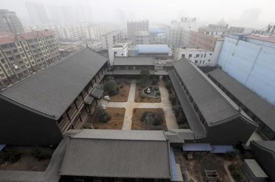 Một khu bất động sản của họ Cốc ở tỉnh Hà Nam. Ảnh: Reuters