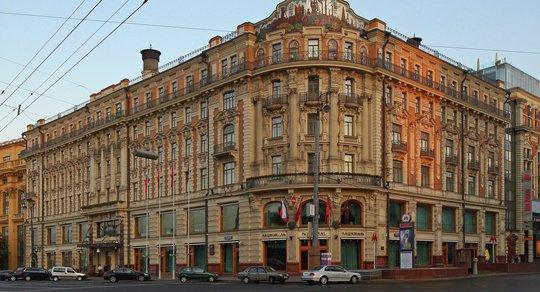 Khách sạn Quốc gia ở Moscow, nơi doanh nhân Nga tự tử bằng súng. Ảnh: Wikipedia