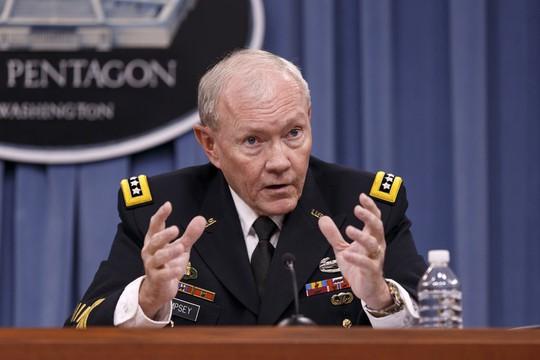 Tướng Martin Dempsey. Ảnh: AP