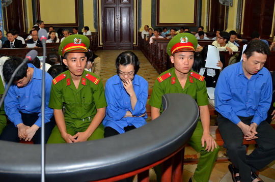 Huyền Như và đồng phạm tại tòa