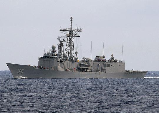 Một tàu khu trục tên lửa dẫn đường lớp Perry của Hải quân Mỹ. Ảnh: Wikipedia