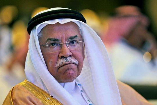 Bộ trưởng Bộ Dầu khí và Khoáng sản Ả Rập Saudi Ali Ibrahim Naimi dự Hội nghị năng lượng Ả Rập lần thứ 10 ở Abu Dhabi, UAE. Ảnh: AP