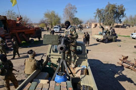 Iran đã hỗ trợ rất nhiều cho lực lượng người Shiite ở Iraq chống IS. Ảnh: Reuters