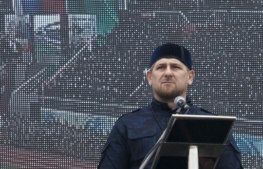 Tổng thống Chechnya Ramzan Kadyro. Ảnh: Itar-Tass