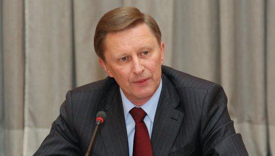 Chánh Văn phòng Tổng thống Nga Sergei Ivanov. Ảnh: RIA Novosti